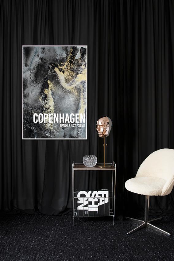 Copenhagen sparkle poster